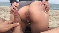 Young Pussy Creampie – Amateur Sex on Beach