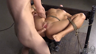 Amateur BDSM – Brunette Teen love Hard Sex